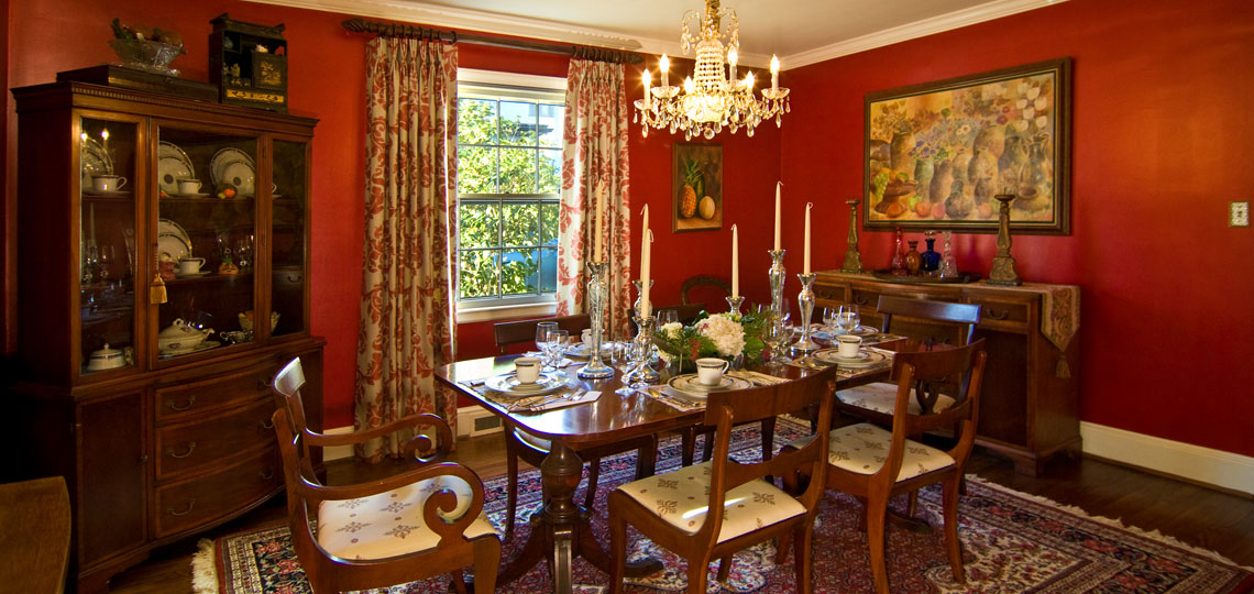 Historic Myers Park Dining Room