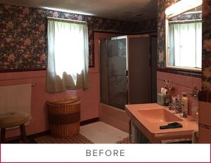 Before Photo—Bathroom Remodel in Gastonia, NC