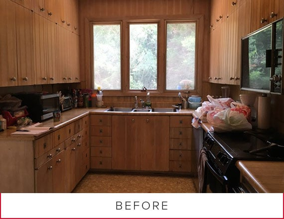 Before Photo—Kitchen Remodel in Gastonia, NC